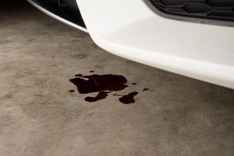 home repair   oil leak