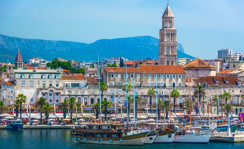Train holidays, best destinations - Split city center Split.