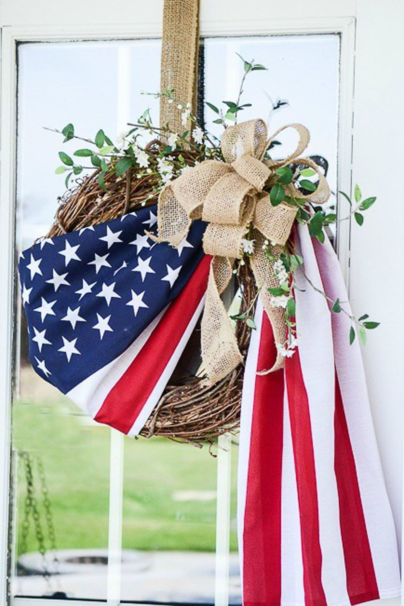 Happy Independence Day Fourth of July Garden Flag Home Decor Printing Flag Gift