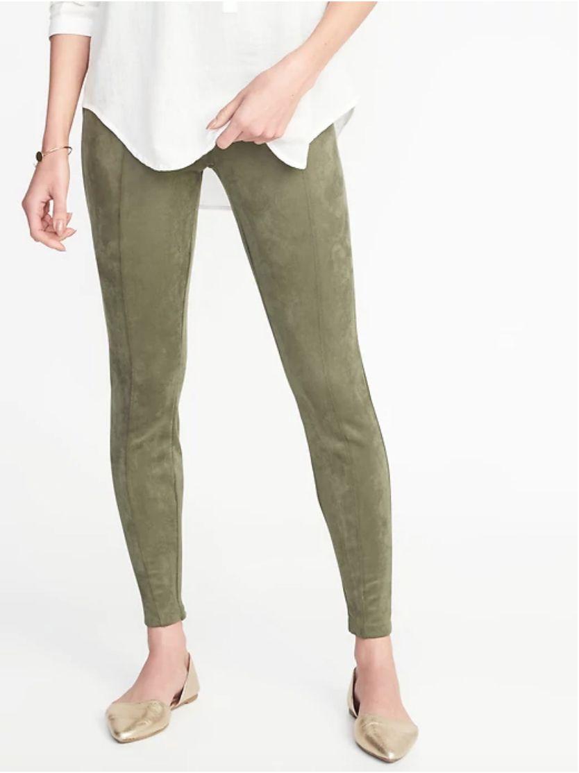 Old NavyStevie Sueded Ponte-Knit Pants