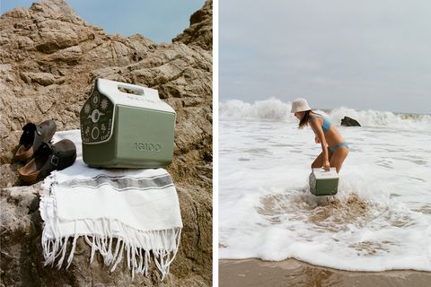 old pal provisions x igloo ecocool  cold pal cooler