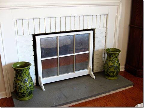 Old Window Frames Easy Craft Ideas