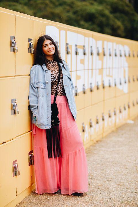 Pink, Clothing, Street fashion, White, Red, Fashion, Beauty, Outerwear, Blazer, Jacket,