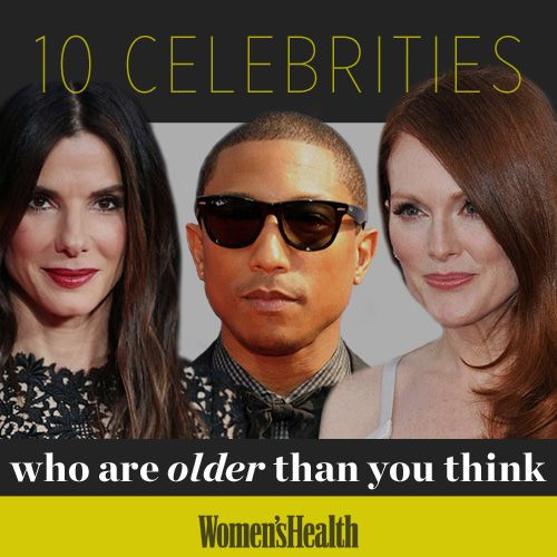 10 Celebrities Who Are Older Than You Think