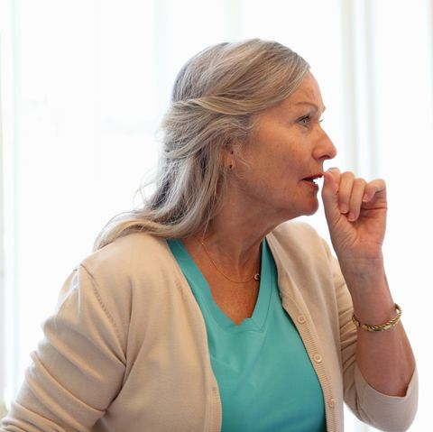 symptoms of lung cancer - coughing