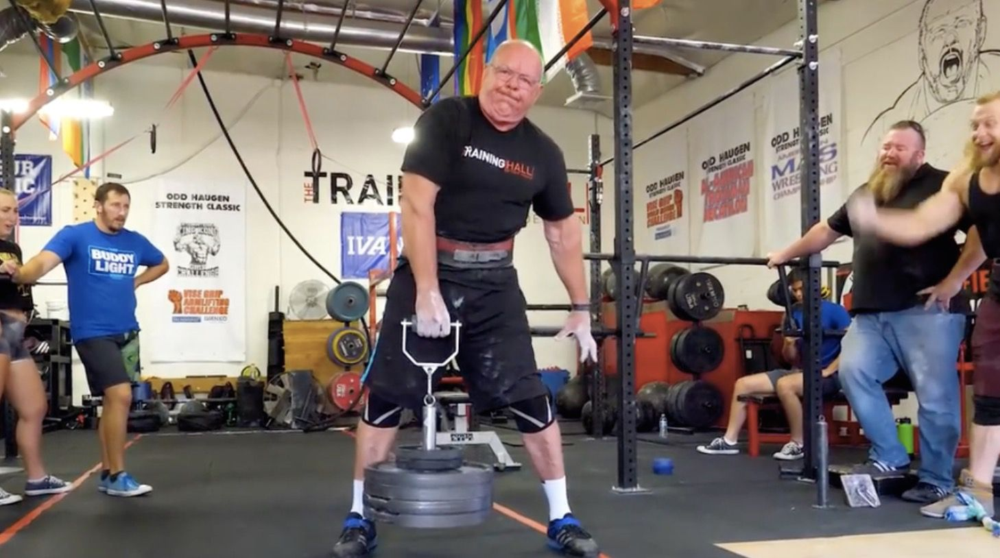 Watch This 69-Year-Old Lifter Show Off His Amazing Grip Strength