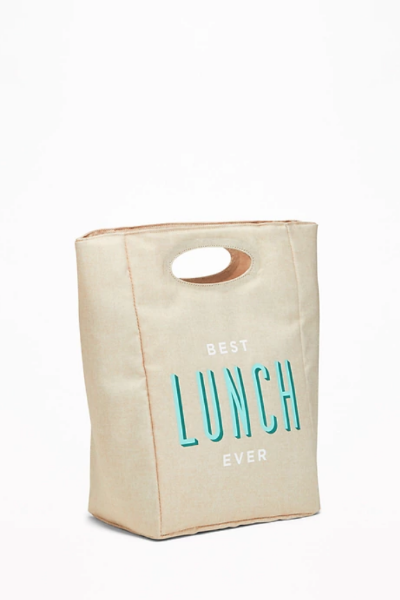 Graduation Gifts for Him and Her -Graphic Canvas Lunch Tote
