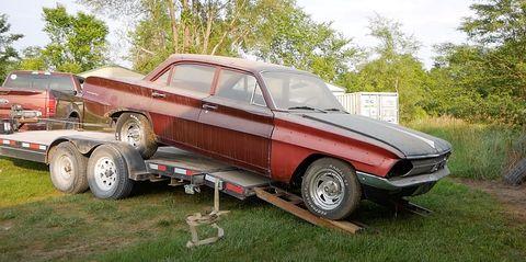 oldsmobile f85 barn find