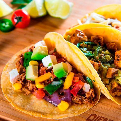 Tacos del restaurante mexicano OleMole, Madrid