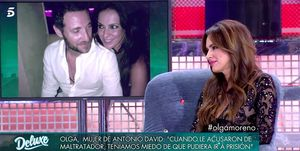 Olga Moreno habla de Antonio David