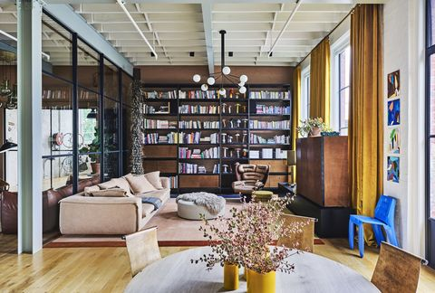 mardi ola's colourful living room in her melbourne home