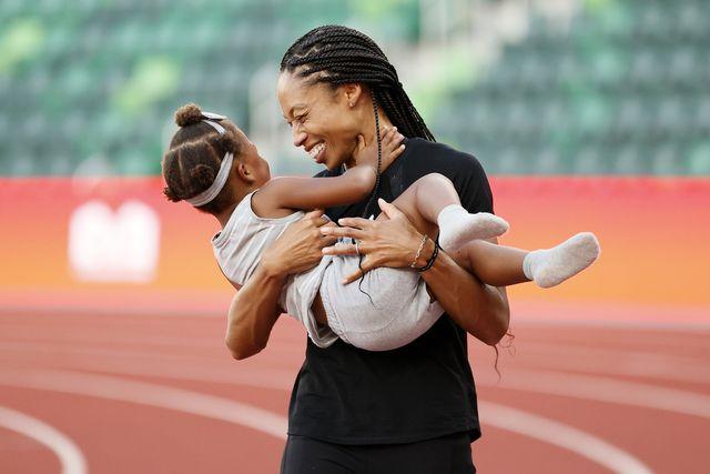 olimpiadi tokyo 2022 allyson felix sostiene le mamme nello sport