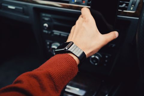 Steering wheel, Vehicle, Car, Center console, Steering part, Personal luxury car, Driving, Vehicle door, Gear shift, Technology,