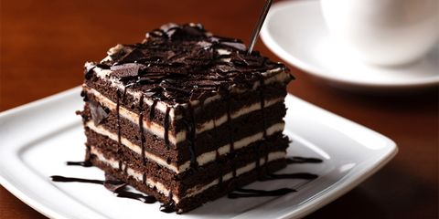 Food, Cuisine, Cake, Dish, Chocolate cake, Dessert, Baked goods, Chocolate, Ingredient, Torte,
