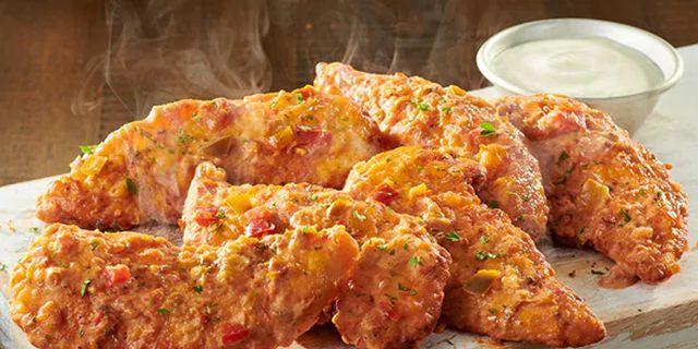 Olive garden is serving spicy alfredo chicken tenders - Olive garden chicken alfredo pizza ...