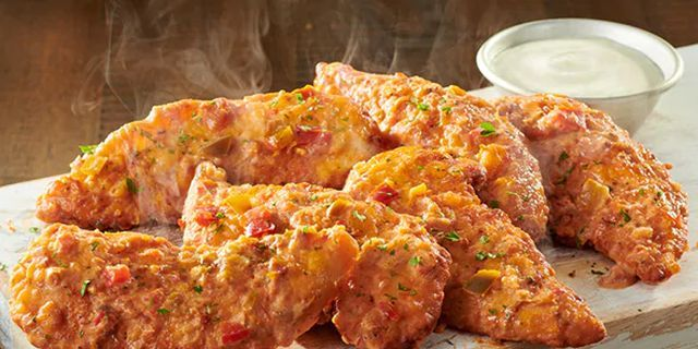Olive Garden Is Serving Spicy Alfredo Chicken Tenders