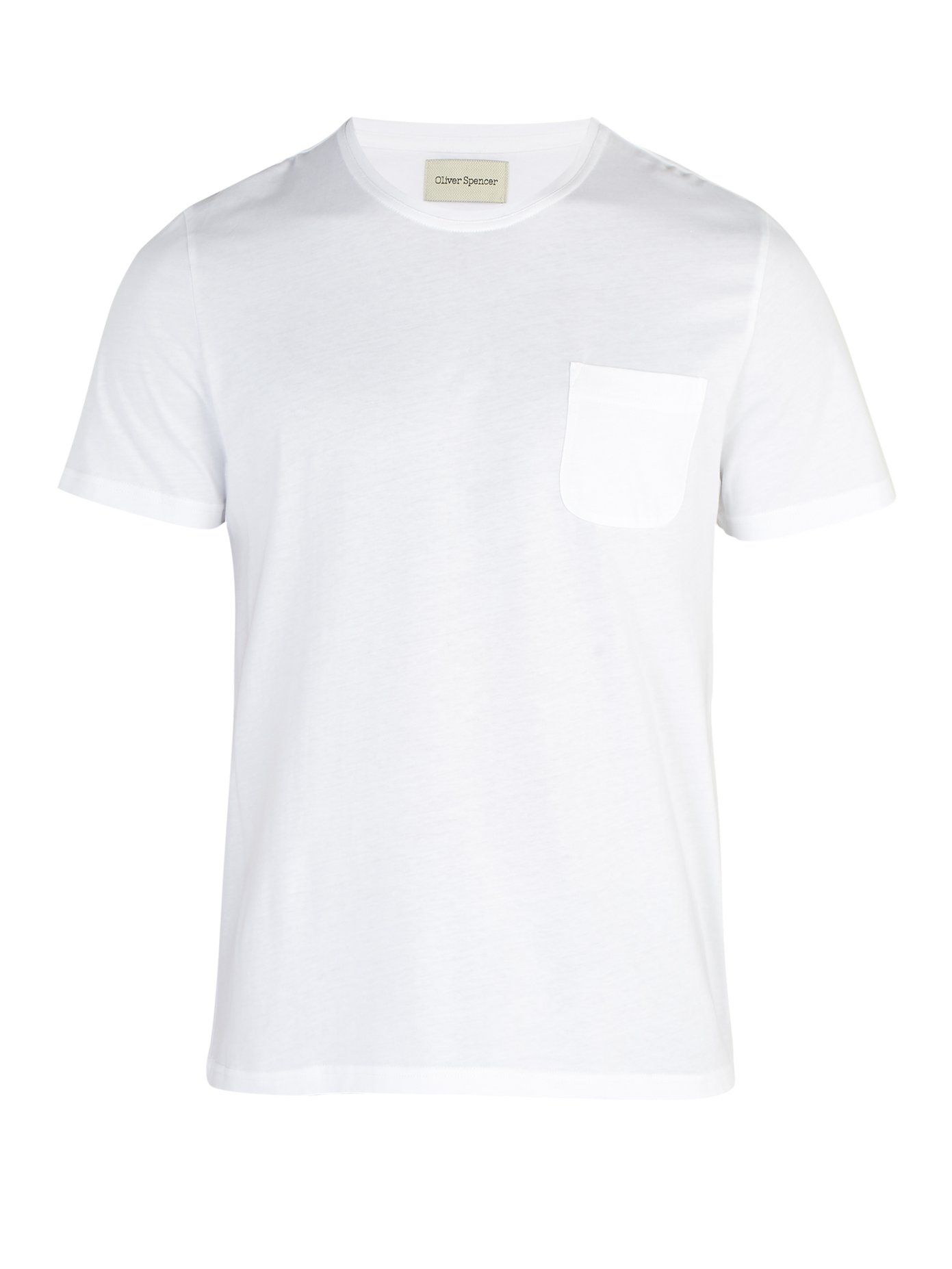 Oliver Spencer white t-shirt men