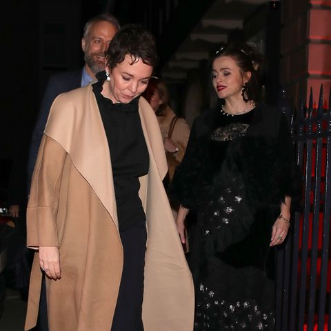 The Crown Stars Olivia Colman and Helena Bonham-Carter Team Up for a Charity Album