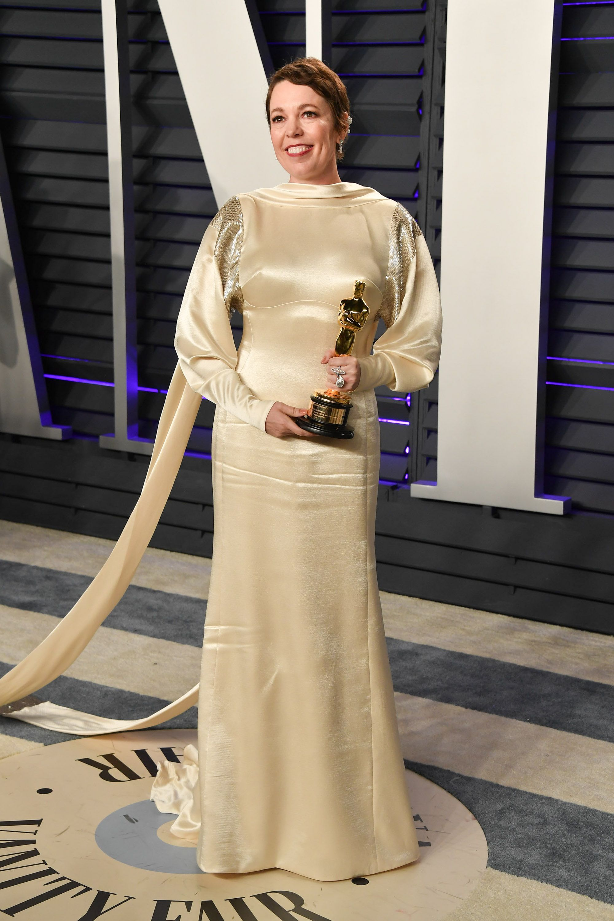 94ab3d0a3f Olivia Colman looked so gorgeous in second Oscars dress after winning Best  Actress award