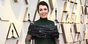 Olivia Colman at Oscars
