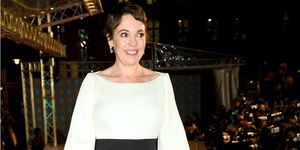 Olivia Colman, EE British Academy Film Awards - Red Carpet Arrivals