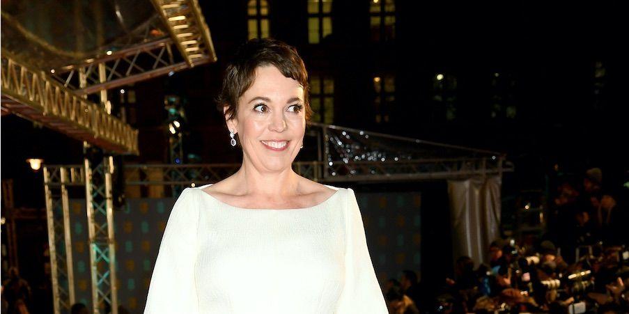 Olivia Colman, EE British Academy Film Awards - Red Carpet Arrivals