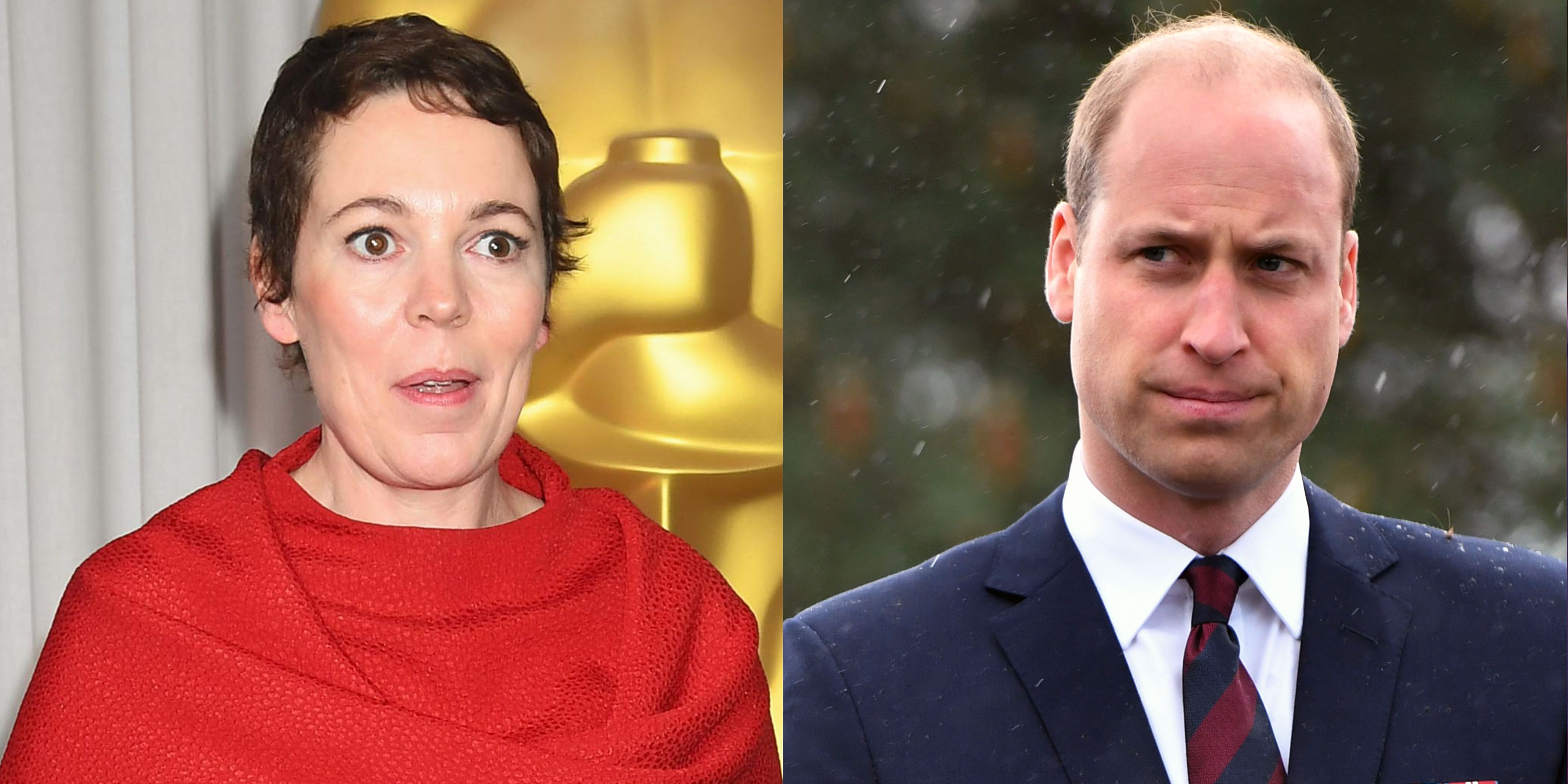 Prince William Told Olivia Colman He Does Not Watch 'The Crown'