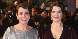 Olivia Colman and Rachel Weisz