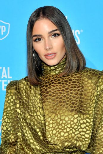 olivia culpo blunt haircut Vital Proteins Collagen Water Launch Party
