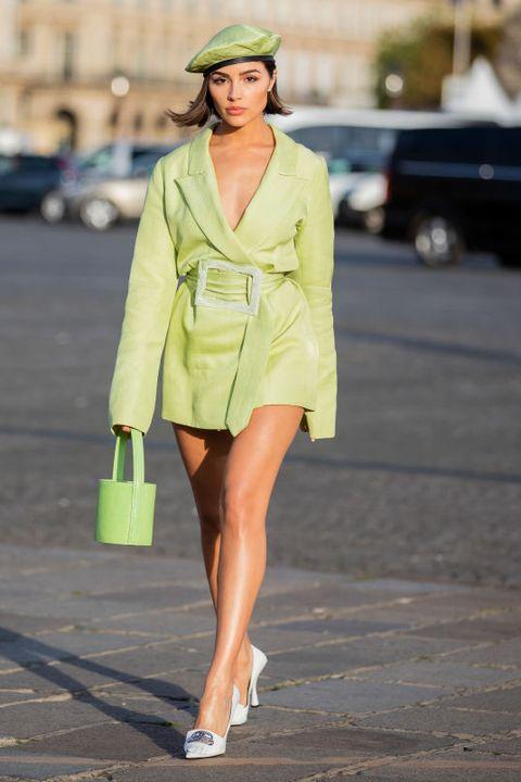 Celebrity Sightings : Paris Fashion Week - Womenswear Spring Summer 2020 : Day Six