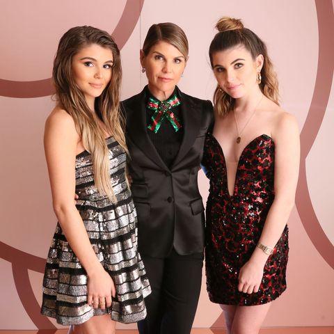 Olivia Jade, Lori Loughlin and Bella