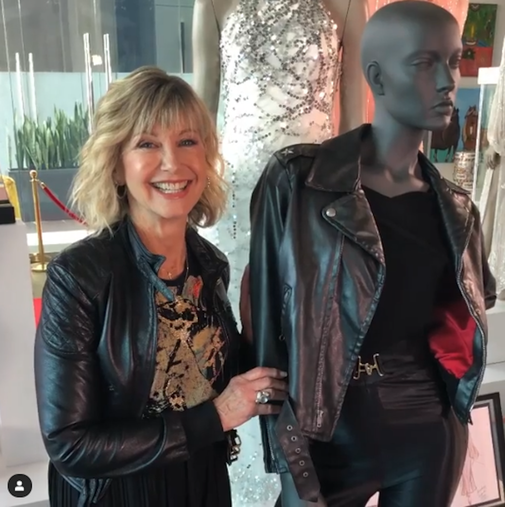 Olivia Newton John Fans Can T Stop Commenting On The Grease Star S Auction Instagram
