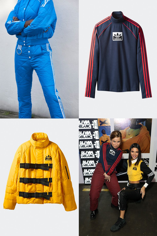 Olivia Oblanc, Adidas Originals, Kendall Jenner, Danielle Cathari