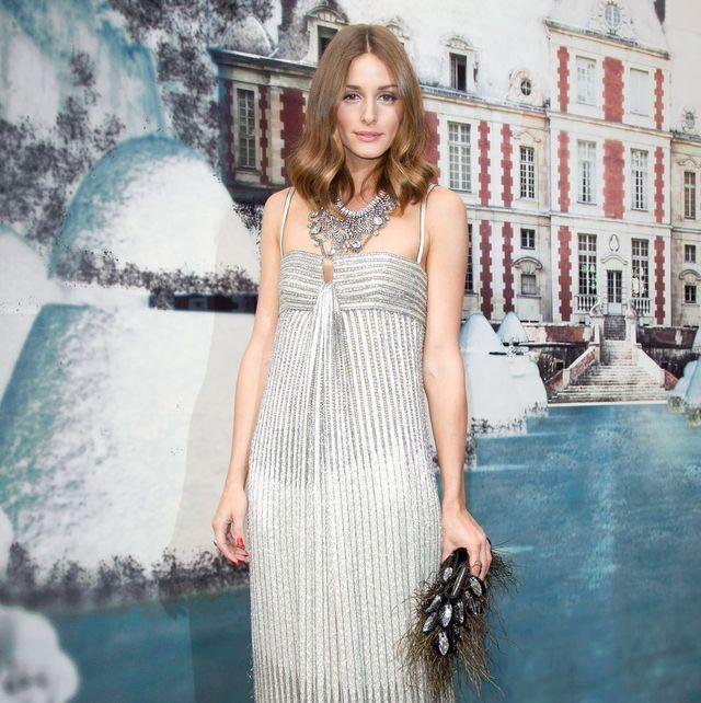 オリヴィア・パレルモのドレス姿