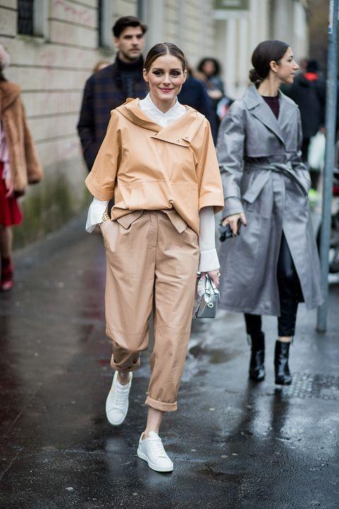 Fashion, Street fashion, Clothing, Fashion model, Snapshot, Shoulder, Outerwear, Human, Fashion show, Footwear,