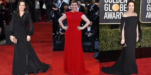 34f45b57d5 Olivia Colman s Best Red Carpet Looks - Olivia Colman s Stylish Outfits