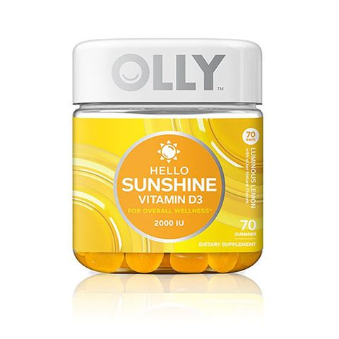 Olly Nutrition Hello Sunshine Vitamin d supplements