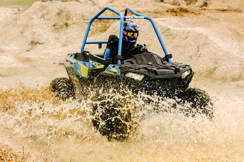 Vehicle, Water, Off-roading, Off-road vehicle, All-terrain vehicle, Sand, Fun, Recreation, Soil, Landscape,