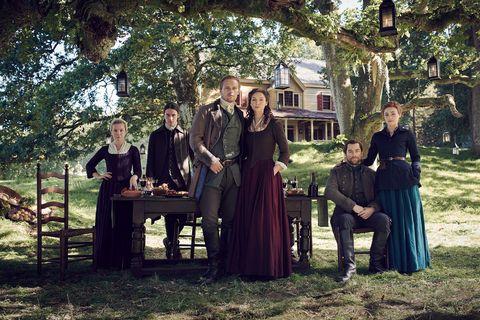 outlander season 5 key art and marketing shoot   sep 17 21 2019