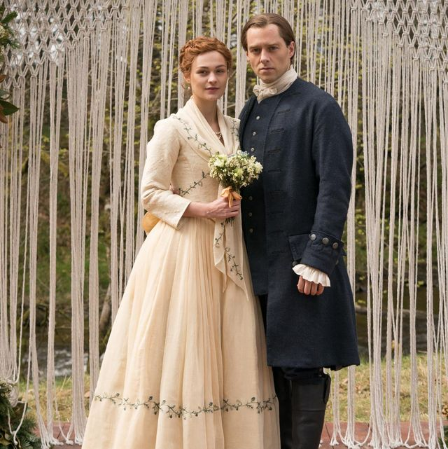 outlander brianna and roger wedding day