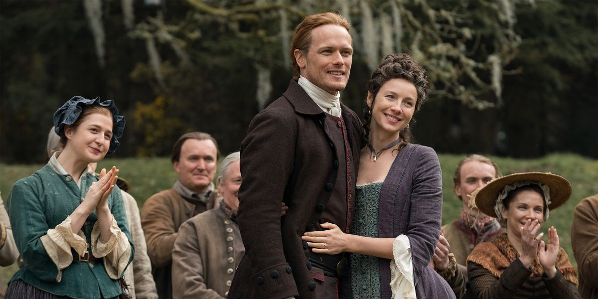 "Jamie and Claire's Age Difference on ""Outlander"" Is Super Confusing"