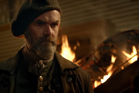 Murtagh's Death in the Outlander Books