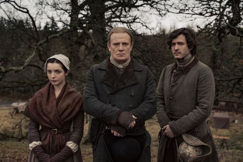 the christie family on outlander