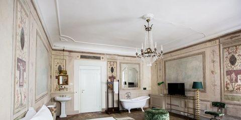 property, room, interior design, building, green, furniture, house, ceiling, estate, home,