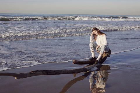 Water, Wood, Sea, Wave, Ocean, Beach, Sky, Shore, Driftwood, Reflection,