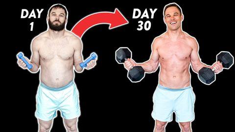 30日間,10種のトレーニング,毎日続けて起きた筋肉の変化,効果,元オリンピック選手,肉体改造,成功,効果的,トレーニング,筋トレ,nick symmonds,