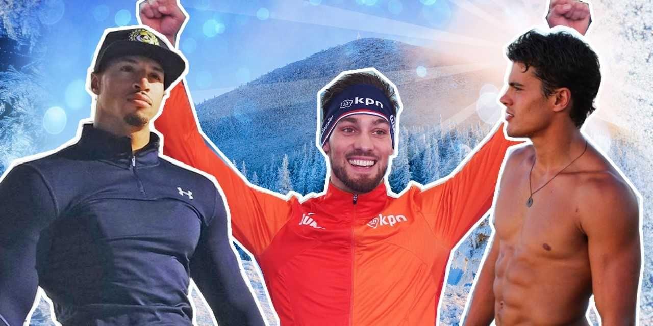 Knappe mannen bij de Olympische Winterspelen