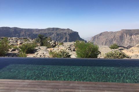 Pool at Anantara Al Jabal Al Akhdar, Oman