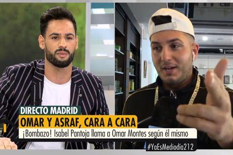 Omar Montes revela que Isa Pantoja le llama todos los días y duda de Asraf como hombre