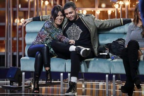 Omar Montes e Isa Pantoja